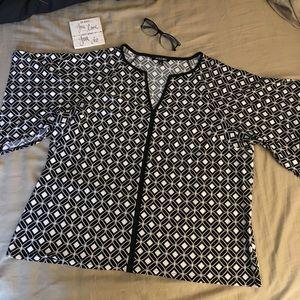 Roz&Ali blouse